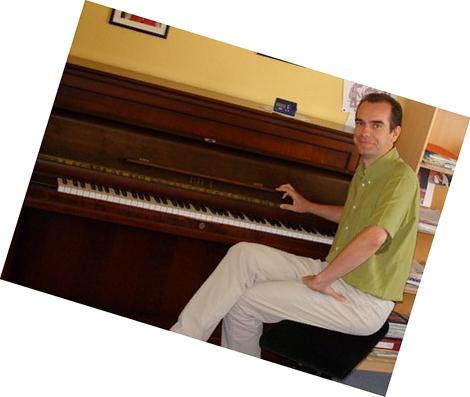 Cours de piano Franck Pancher